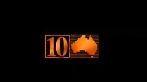 10 TV Australia Production Endboard (1990)