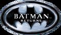 Batman Returns (1992, Spirit of Discovery, DOS) - Logo