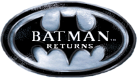 Batman Returns (1992, Spirit of Discovery, DOS) - Logo