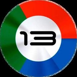 Canal 13 Río Cuarto (Logo 2014)