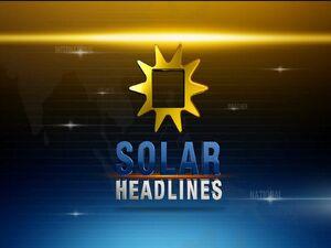 Solar Headlines Title Card (2012)