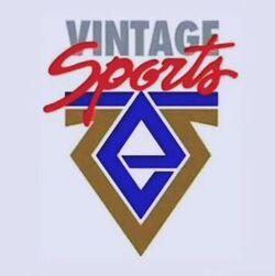 Vintage Sports logo 1997 1999