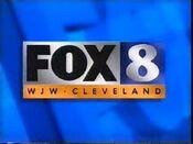 WJW FOX 8 1997 Logo