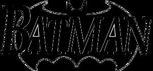 1993 batman comic title logo