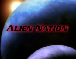 Alien Nation TV series title card