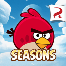 Angry Birds Seasons Square Icon Artic Eggspedition