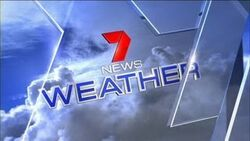 Australia's 7 News' 7 Weather Video Open From 2011