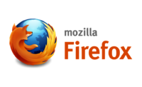Firefox logo horizontal with mozilla