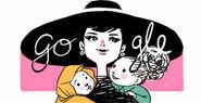 Google Audrey Hepburn's 85th Birthday (Version 5)