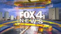 KDFW Fox 4 News daytime open - 2013