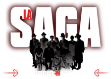 La saga logo