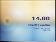Polsat 2003 TV schedule ident
