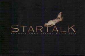 Startalk 7th Year OBB Logo (October 2002)