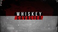 Whiskey Cavalier intertitle