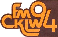 CKLW FM Windsor 1979