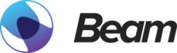 Large beam logo color