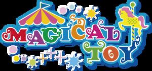 Magical toy logo