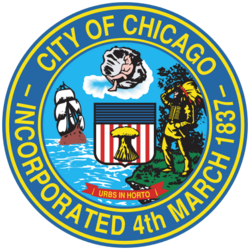Seal of Chicago, Illinois svg