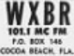 WXBR Cocoa Beach 1962