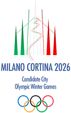 Milano-Cortina 2026 Olympic bid Logo