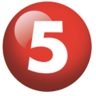 TV5 Number 5 Logo 2011
