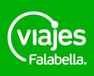 Viajes Falabella logo 2011 con fondo