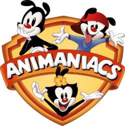 Animaniacs logo complete with shading