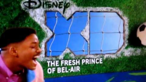 "Disney XD US - The Fresh Prince of Bel-Air - ""Is Back"" bumper (rare)"