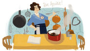 Google Julia Child's 100th Birthday (Version 2)