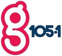 WGHL g105.1 logo