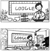 Google Pei Mei Fu's 84th Birthday (Storyboards)