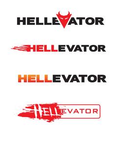 Hellevator Logo Round1 612