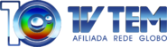 Logo tv tem 10 anos horizontal afiliada rede globo - 4k