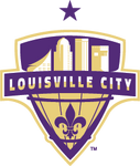Louisville City FC logo (one purple star)