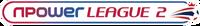 Npower League Two logo (linear)