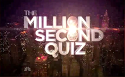 The Million Second Quiz Main Title