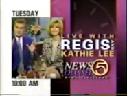 WEWS 1994 Live With Regis And Kathie Lee