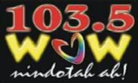 Wow Davao 103.5 Logo 2002