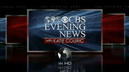 CBS Evening News with Katie Couric (2009 - Widescreen)