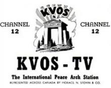 First KVOS logo
