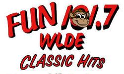WLDE Fun 101.7 logo