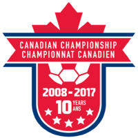 Canadian Championship logo (10 Years)