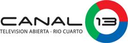 Canal 13 Río Cuarto (Logo Horizontal)