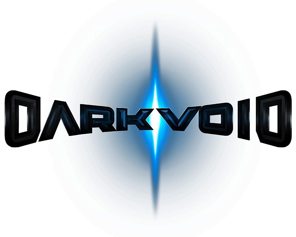 Dark Void Captivate Darkvoid Logo Press White