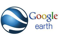 Google Earth wordmark 2007