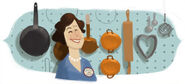 Google Julia Child's 100th Birthday (Version 3)