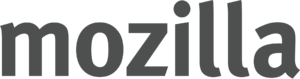 Mozilla gray wordmark
