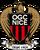 OGC Nice logo (introduced 2013)