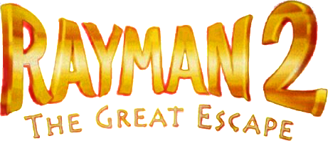 Image result for Rayman 2: The Great Escape logo