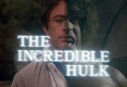 The Incredible Hulk title card